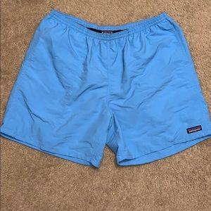 Men's Patagonia beautiful Blue color swim trunks